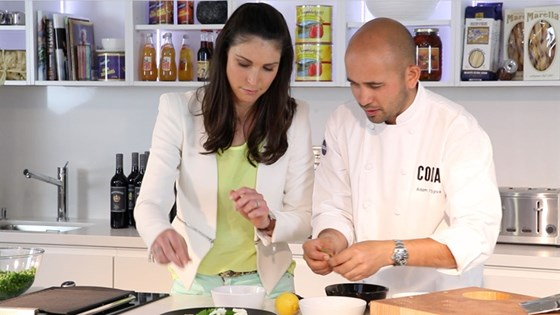 Curtis Stone, Adam D'Sylva and more in the Thrive PR kitchen