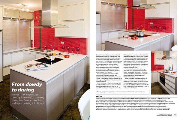 Kitchens & Bathrooms Quarterly - From dowdy to daring