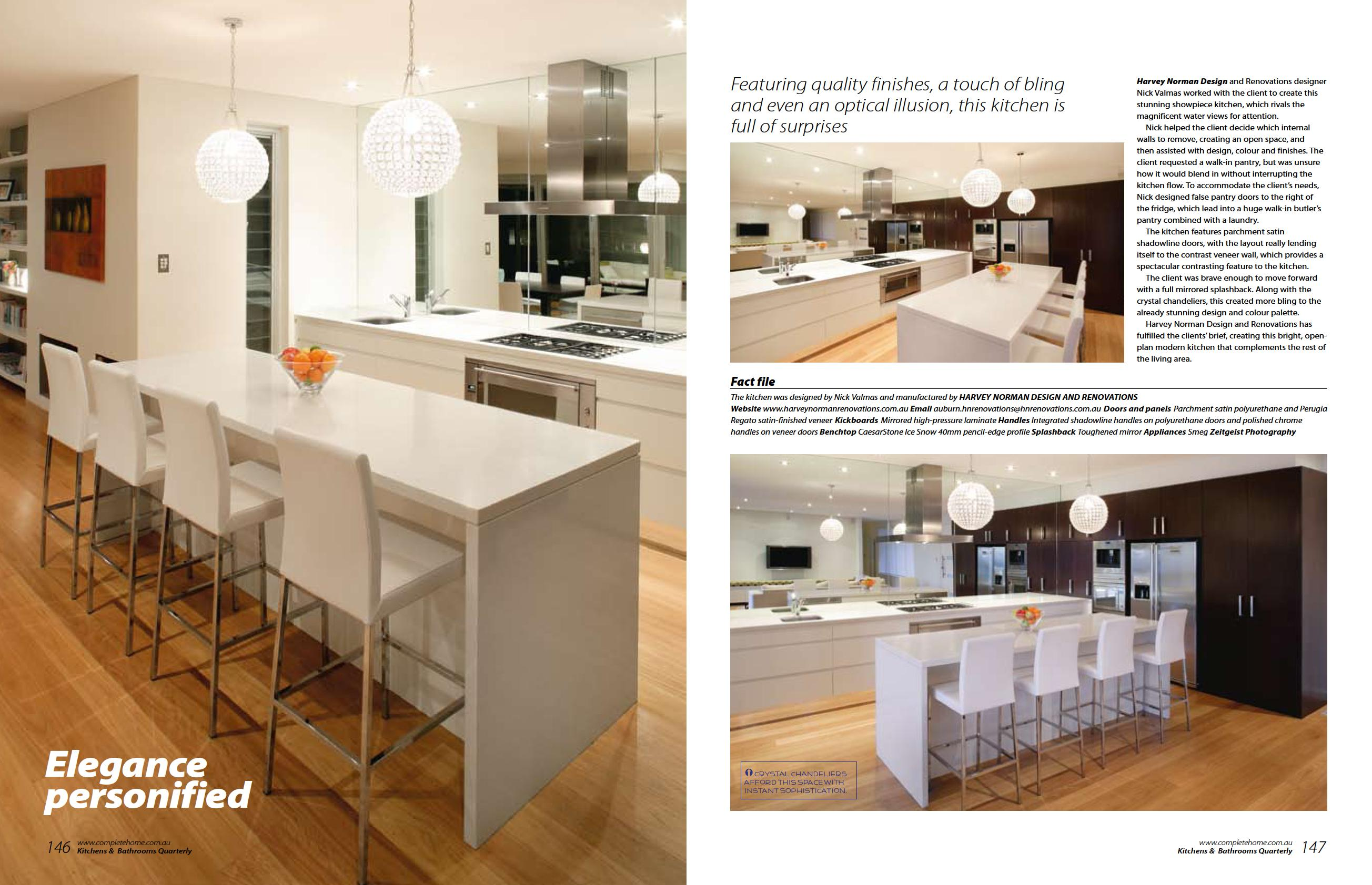 Kitchens & Bathrooms Quarterly - Elegance personified