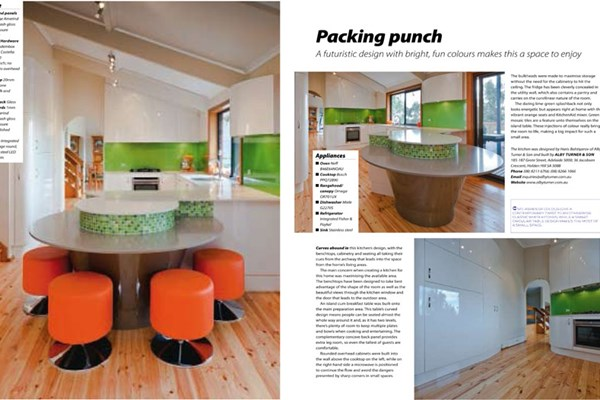 Kitchens & Bathrooms Quarterly, Packing Punch